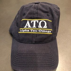 Men's Alpha Tau Omega Fraternity ATO Hat